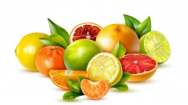 Frutas con contenido de vitamina C