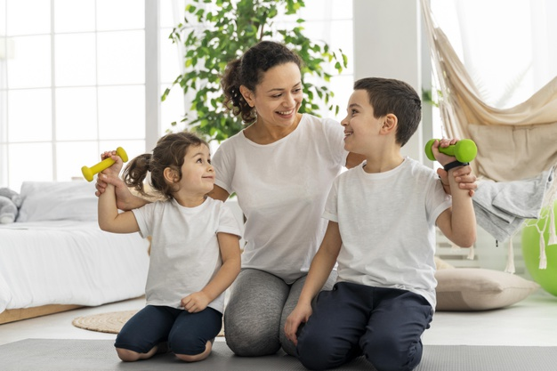 Actividad física en niños