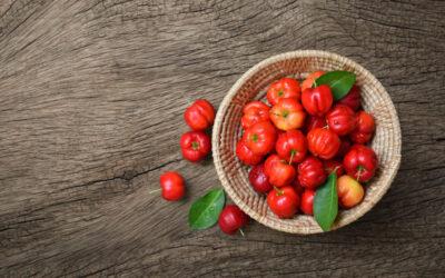Acerola, su importancia como el fruto con mayor  aporte de vitamina C del mundo